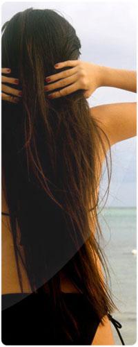 Фото на аву брюнеток с длинными волосами со спины (15)