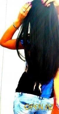 Фото на аву брюнеток с длинными волосами со спины (17)