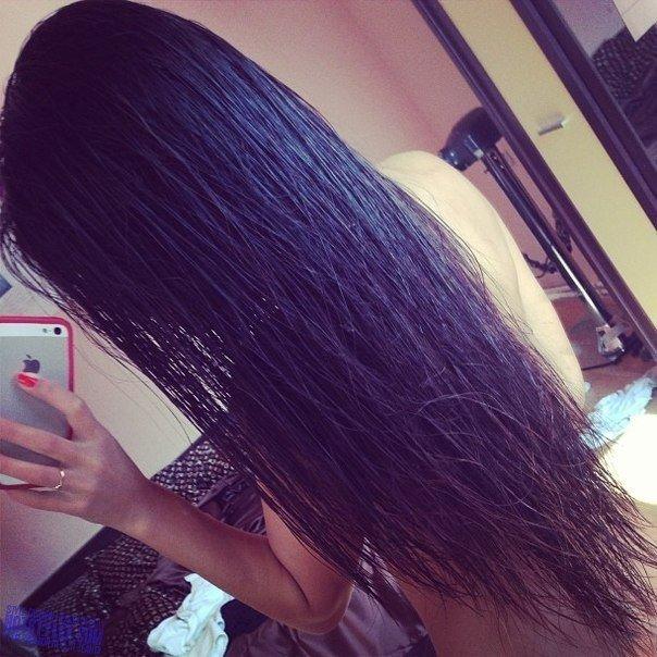 Фото на аву брюнеток с длинными волосами со спины (23)