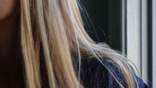 Фото на аву девушка с русыми волосами без лица002