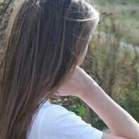 Фото на аву девушка с русыми волосами без лица004