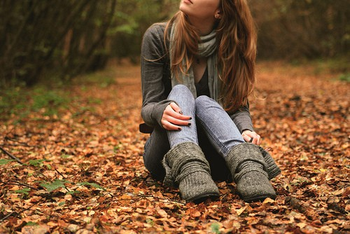 Фото на аву для девушек со спины новые осень - подборка (1)