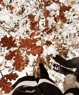 Фото на аву для девушек со спины новые осень - подборка (11)