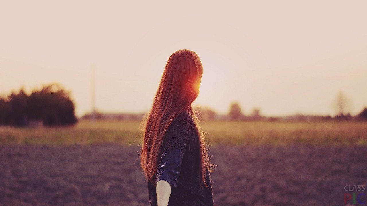 Фото на аву для девушек со спины новые осень   подборка (2)
