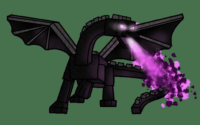 Фото эндер дракона из майнкрафт (19)