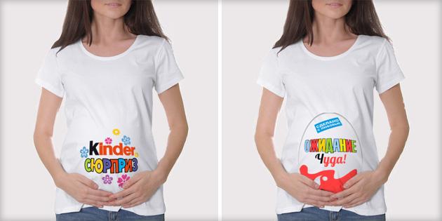 Футболки для беременных прикольные картинки (3)