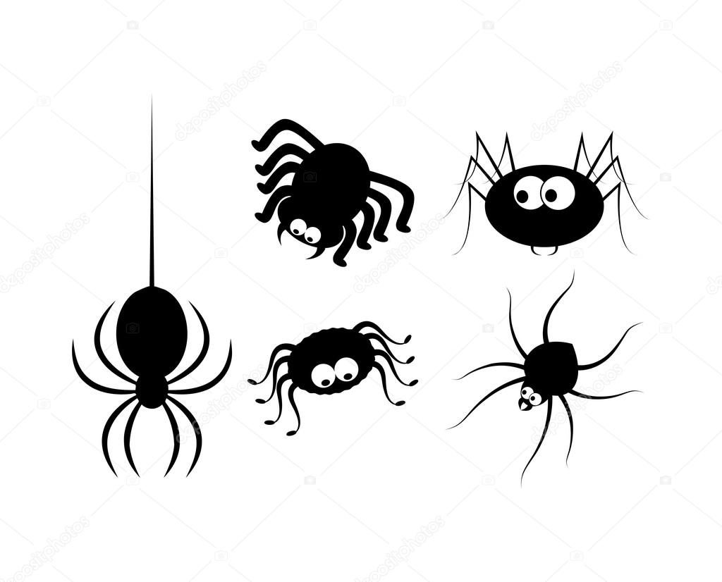 Хэллоуин пауки красивые картинки (5)