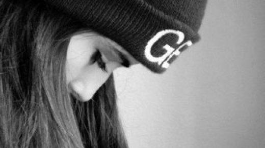 Черно белые аватарки для девушек со спины004