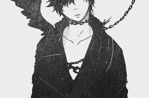 Черно-белые аниме куны - 31 артов (11)