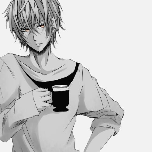 Черно-белые аниме куны - 31 артов (24)