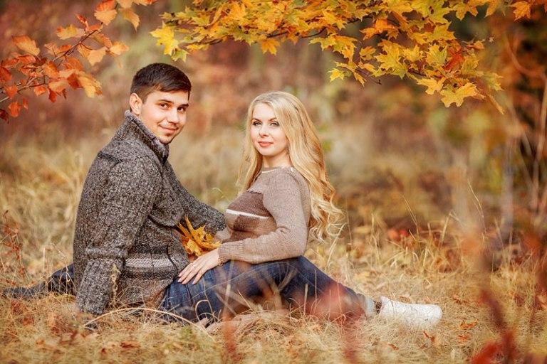 Что одеть на фотосессию на природе осенью Фото идеи (3)
