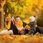 Что одеть на фотосессию на природе осенью? Фото идеи