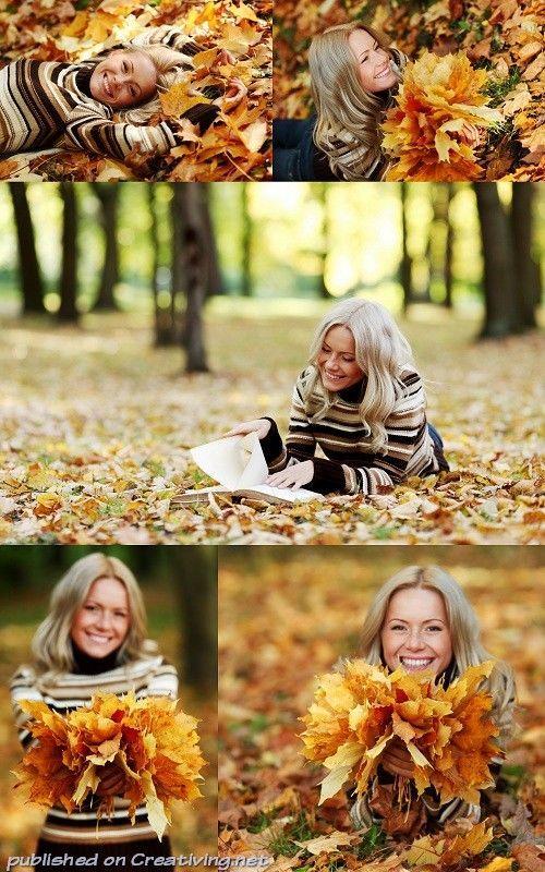 Что одеть на фотосессию на природе осенью Фото идеи (5)