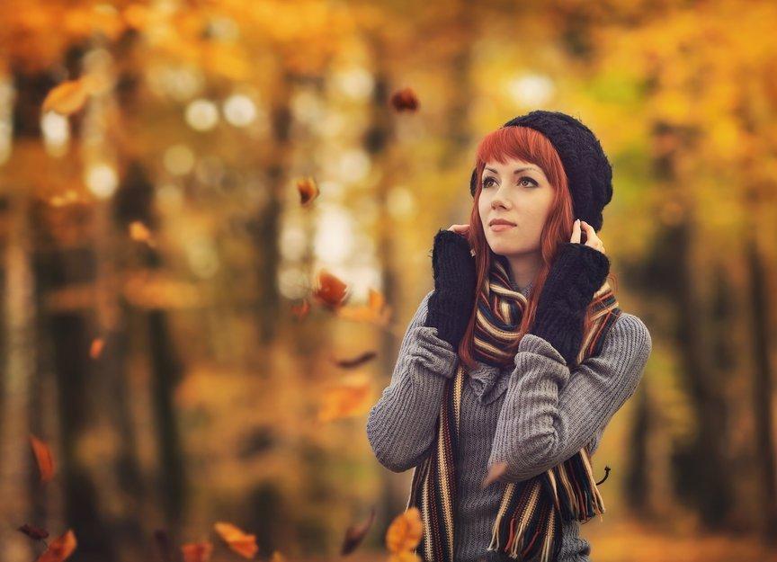 Что одеть на фотосессию на природе осенью Фото идеи (7)
