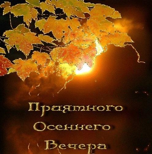 Чудесного осеннего воскресенья картинки020