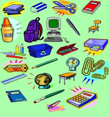 Школьные принадлежности картинки на английском для детей004