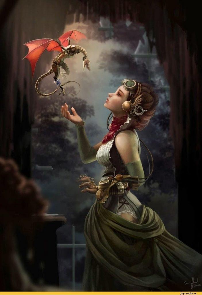 Эльфы иллюстрации и красивые арт картинки001