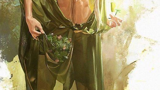 Эльфы иллюстрации и красивые арт картинки009