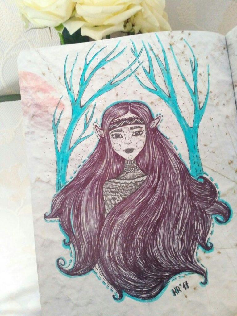 Эльфы иллюстрации и красивые арт картинки015