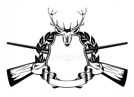 Эскизы на тему охота - сборка изображений (11)