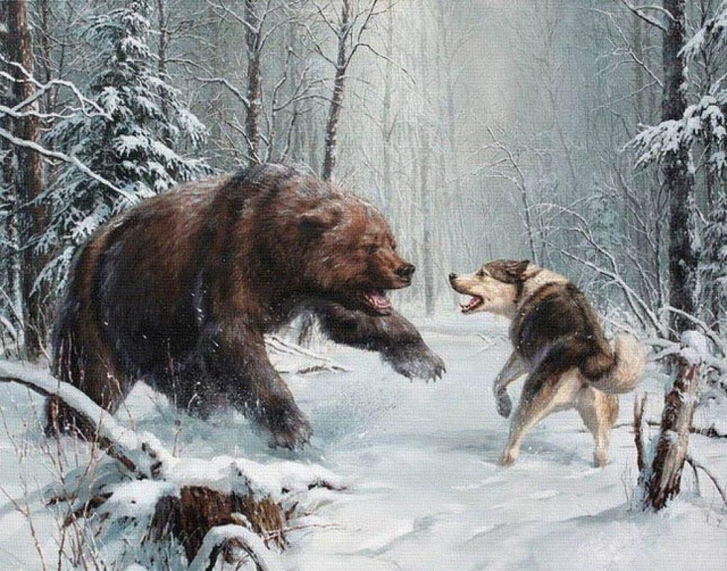Эскизы на тему охота - сборка изображений (13)