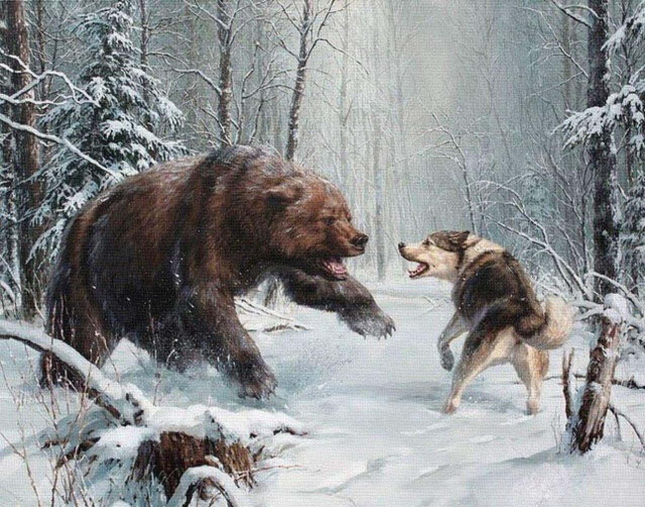 Эскизы на тему охота   сборка изображений (13)