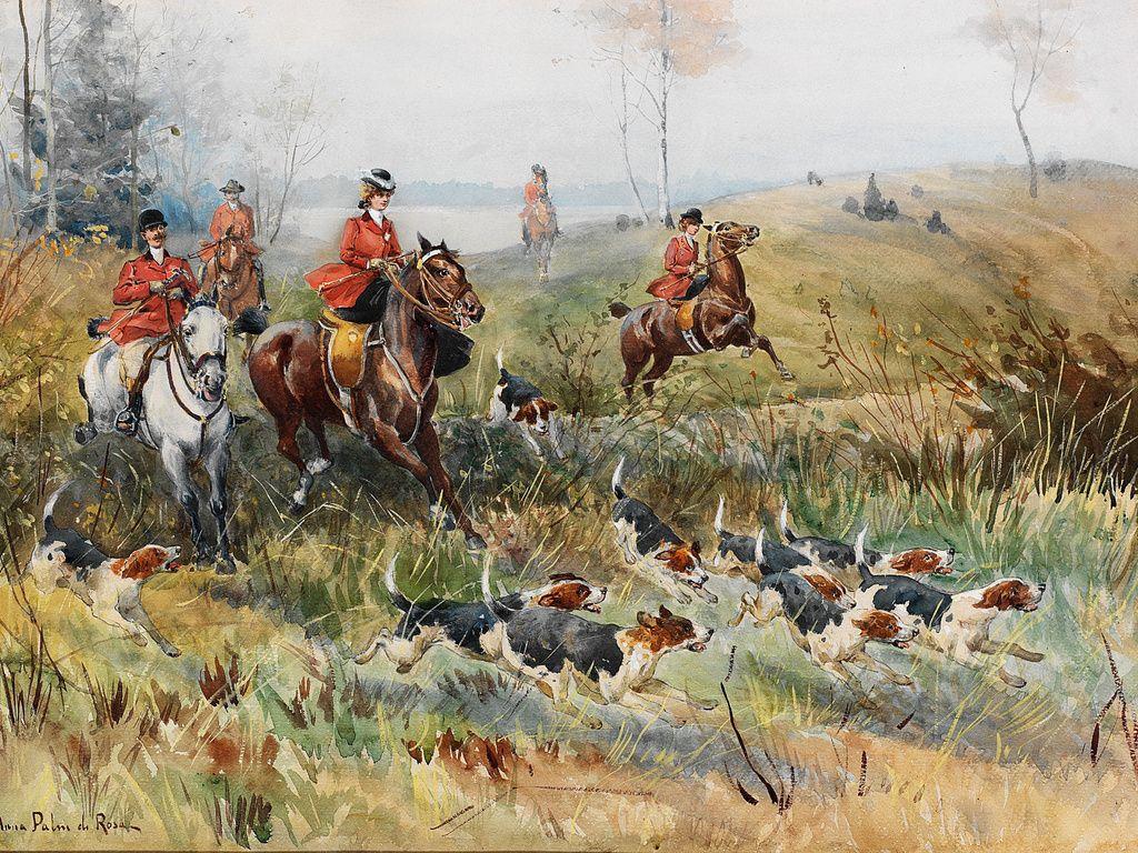 Эскизы на тему охота   сборка изображений (14)
