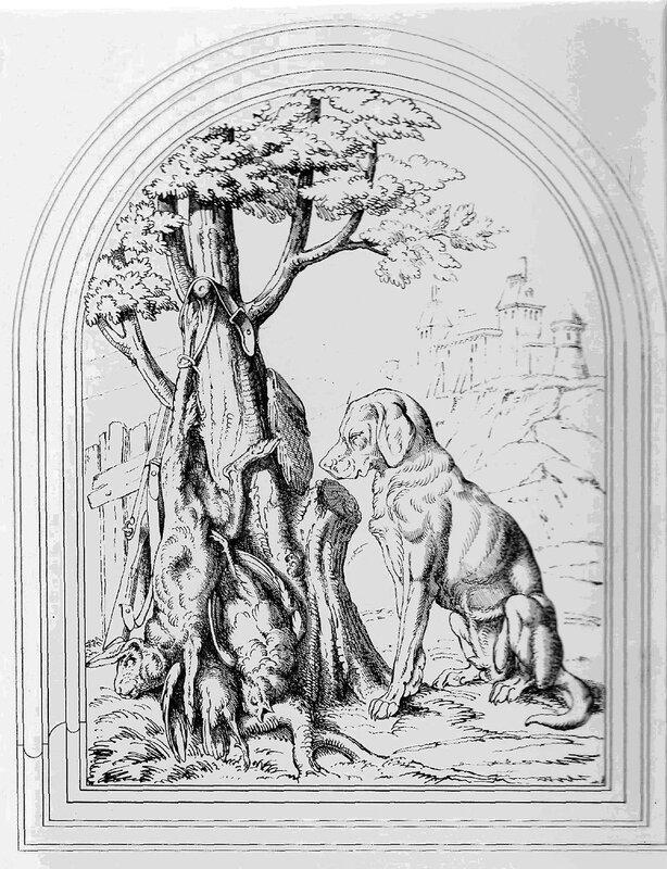 Эскизы на тему охота - сборка изображений (16)