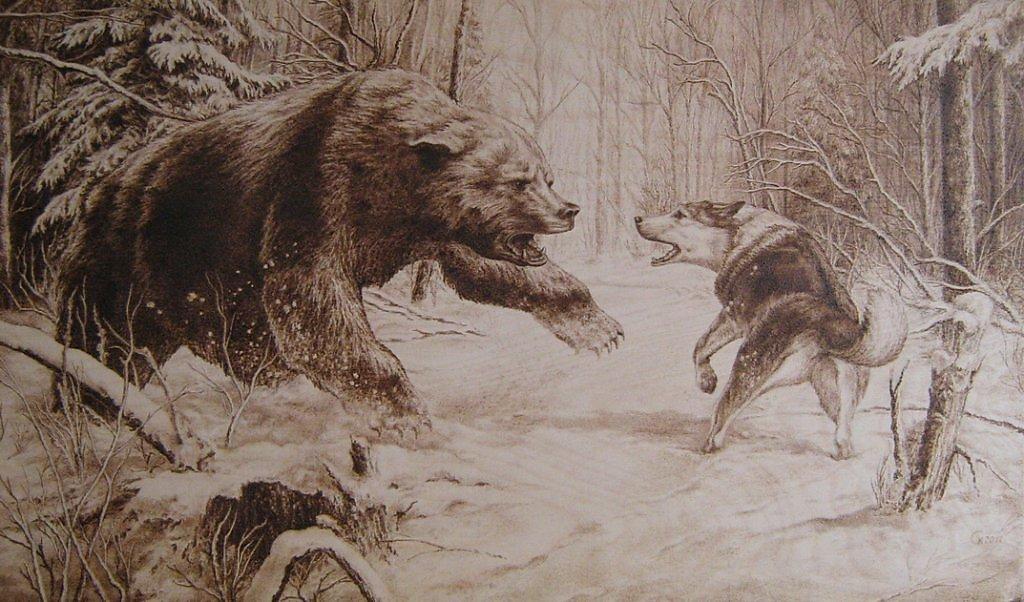 Эскизы на тему охота   сборка изображений (17)