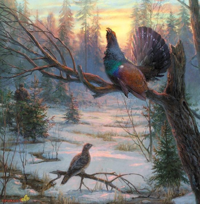 Эскизы на тему охота - сборка изображений (19)