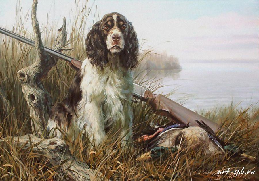 Эскизы на тему охота - сборка изображений (21)