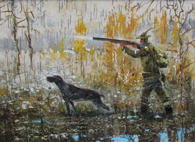Эскизы на тему охота - сборка изображений (22)