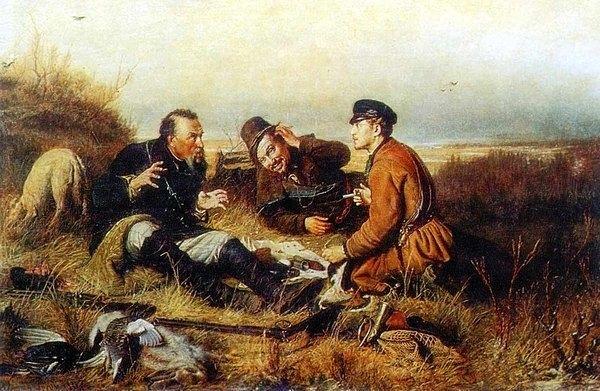 Эскизы на тему охота - сборка изображений (23)