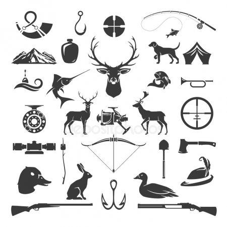 Эскизы на тему охота - сборка изображений (8)