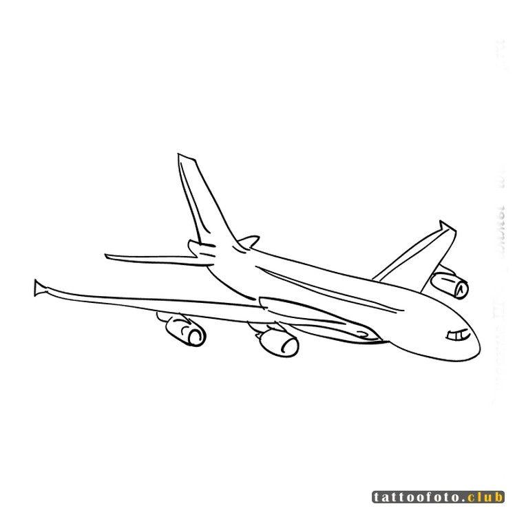 Эскиз самолетик - 30 лучших изображений (3)