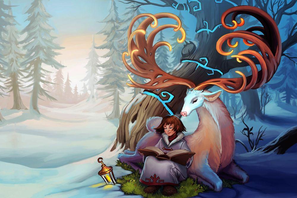 Эскимосы рисунки красивые и прикольные (11)