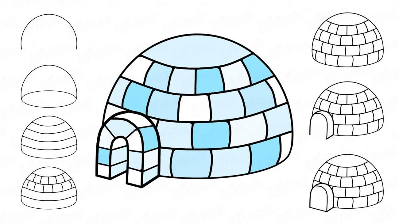 Эскимосы рисунки красивые и прикольные (12)