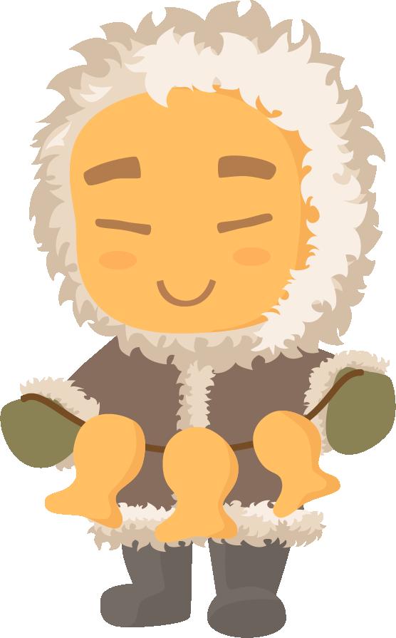 Эскимосы рисунки красивые и прикольные (13)