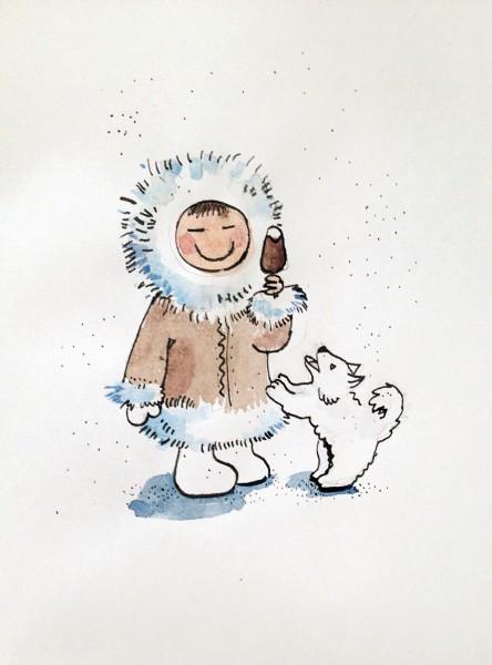 Эскимосы рисунки красивые и прикольные (2)