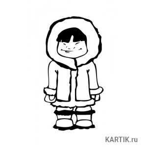 Эскимосы рисунки красивые и прикольные (8)