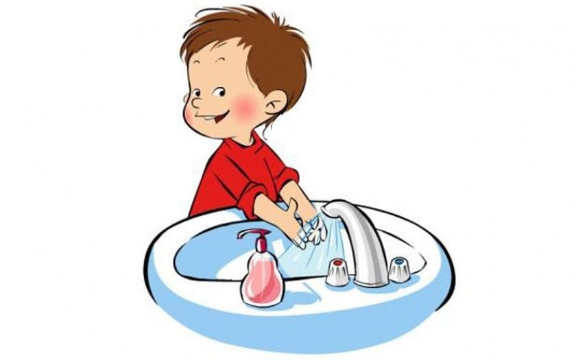 День, картинка чистые руки