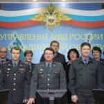 Фото на праздник 7 октября День образования штабных подразделений МВД РФ