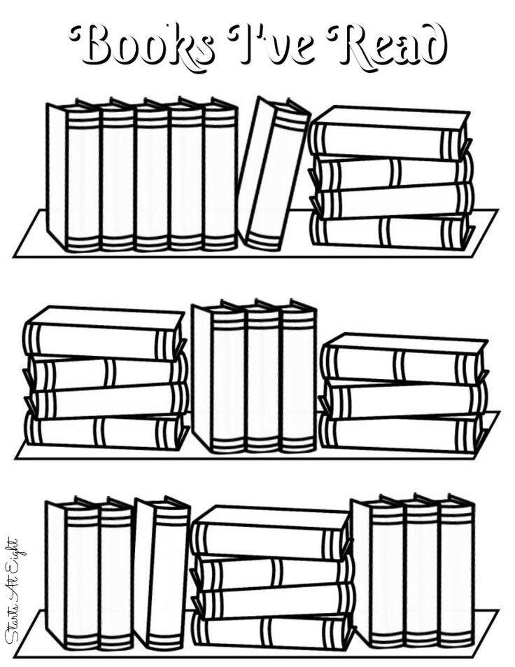 Cтопка книг черно-белые картинки - подборка (17)
