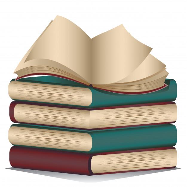Cтопка книг черно-белые картинки - подборка (21)