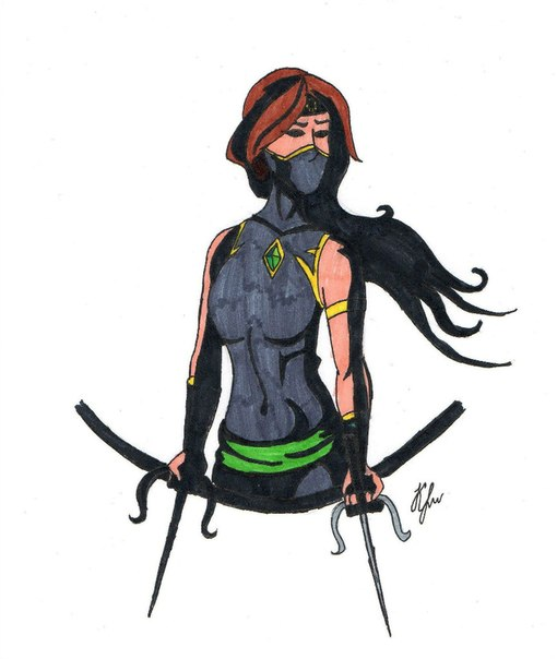 Shadow fight 2 персонажи девушки (1)
