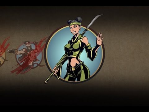 Shadow fight 2 персонажи девушки (6)