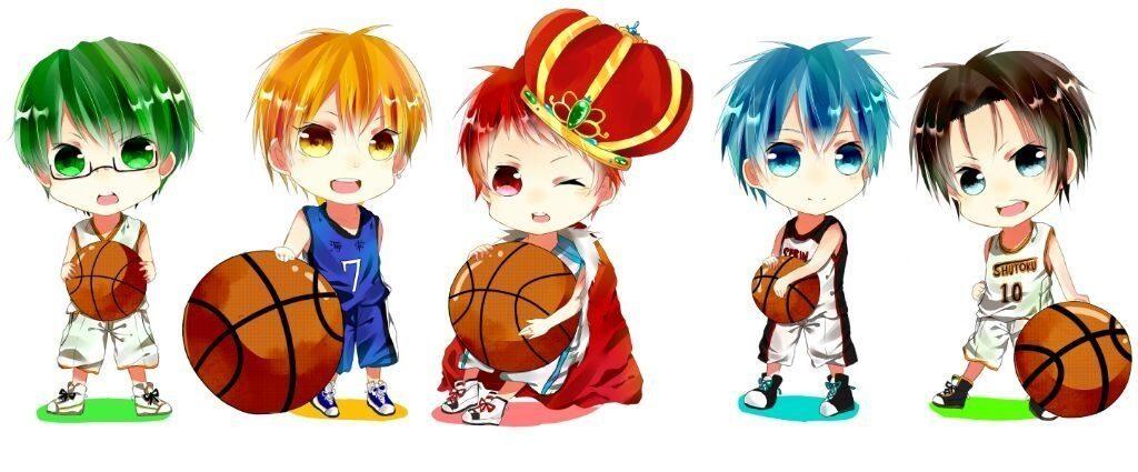 Баскетбол Куроко чибики картинки001
