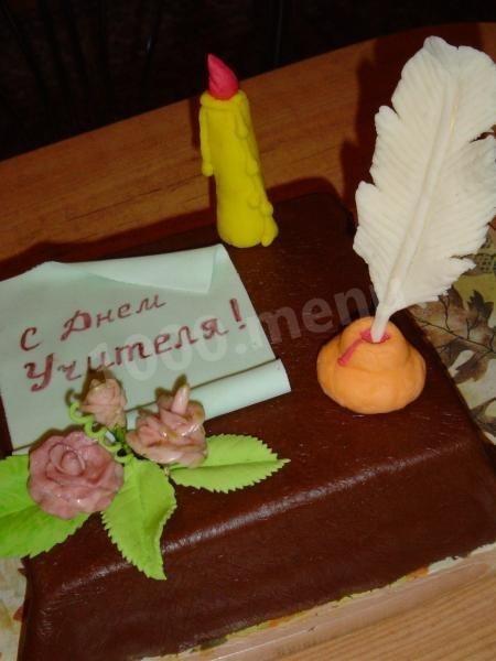 Вкусные фото тортов на день учителя004