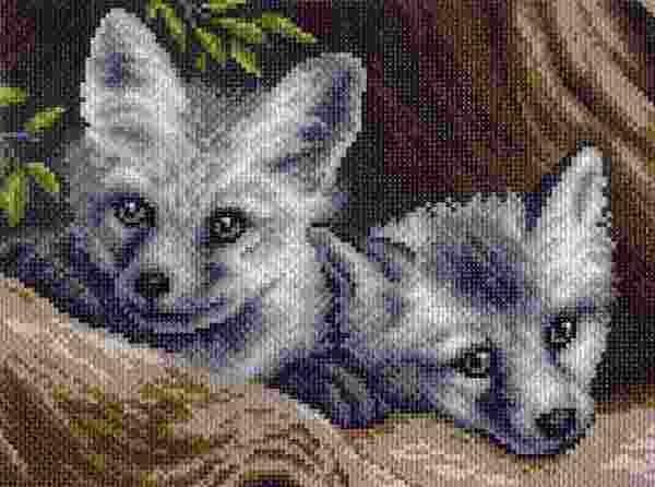 Волчата арт картинки007