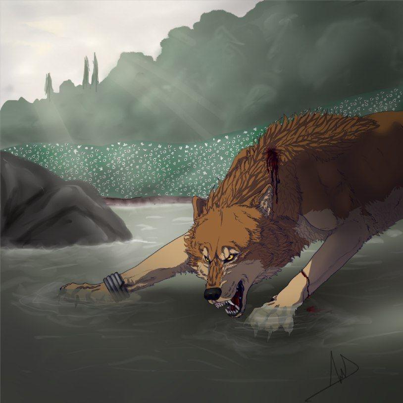 Волчата арт картинки017